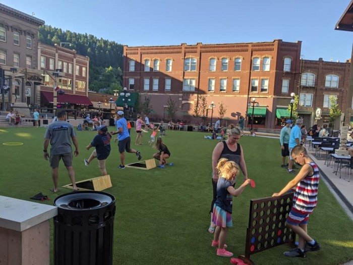 Deadwood History Family Fun Night at Outlaw Square