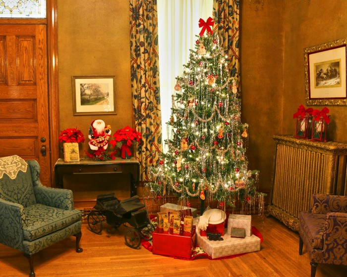 Christmas Tours of the Historic Adams House